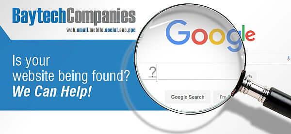 Baytech Companies June 02 website being found SEO backlinks retargeting ppc